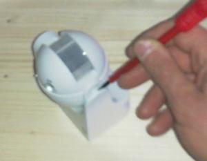 Modifica sensori pir - Togliere silicone dalle piastrelle ...
