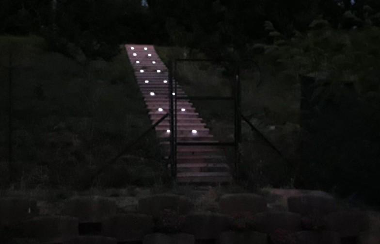 Luci sulle scale