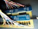 Scheda pilotaggio LED con moduli PCF8574 - Dettaglio